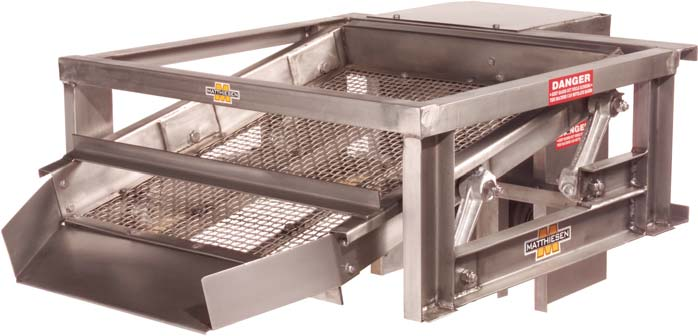 Matthiesen Shakers and Vibrating Screens